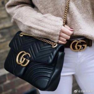 定价优势+包税上新:Gucci 新品包包鞋履热卖 蜜蜂鞋、双G腰带补货