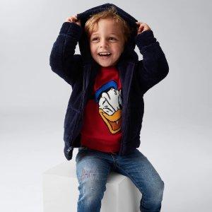 低至5折+额外4.9折即将截止:Gap 童装折上折促销