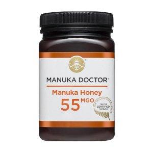 现价£10(原价£33.99)手慢无:Manuka Doctor 55 MGO蜂蜜250g 立省£24