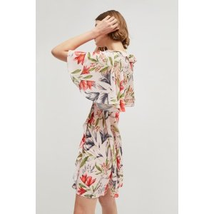 French ConnectionCadencia Crepe Short Floral Dress