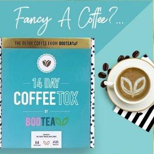 低至5折+满减£40Bootea减肥茶大促 新品瘦身咖啡粉£11