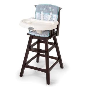 $94.34 (原价$199.99)Summer Infant Turtle Tales 婴幼儿实木高脚餐椅