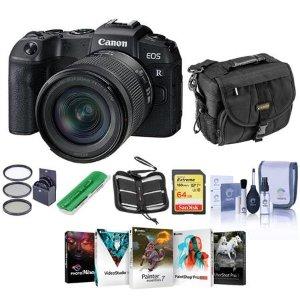 $999 全幅入门新选择Canon EOS RP 无反相机 + 24-105mm f/4-7.1 镜头 + 配件