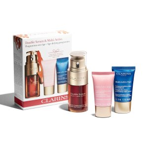 ClarinsDouble Serum & Multi-Active Collection