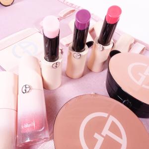 断货王8.5折 超级美的粉色最后一天:Giorgio Armani Beauty官网 NEO NUDE系列腮红露、唇膏、粉饼热卖