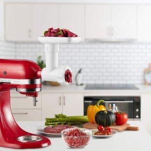 $35.99 (原价$54.99)鼠你省钱:InnoMoon KitchenAid 厨师机专用 绞肉/灌肠配件套装
