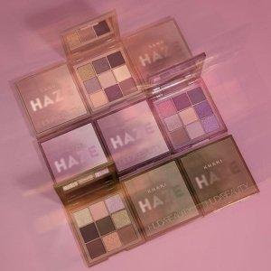 $37 兑换积分享8.5折上新:Huda Beauty HAZE 迷雾系列9宫格眼影盘 绝美秋冬配色