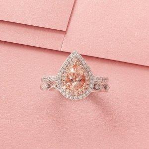 低至5折+额外7折Helzberg Diamonds 精选珠宝折上折