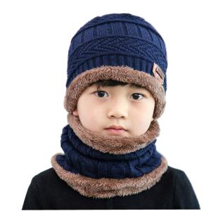 $6.99(原价$15.99) 4色可选ZZLAY 加绒加厚 儿童冬季帽子 围巾2件套 反季清仓可以囤一囤
