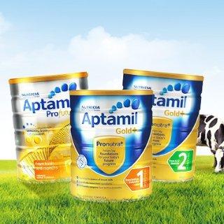 新人减AU$5+包税免邮中国2kg澳洲 Aptamil 婴幼儿奶粉热卖  金装1、2、3段热卖