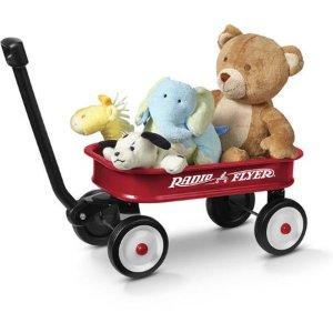 $9.97史低价:Radio Flyer 经典红色儿童拖车玩具