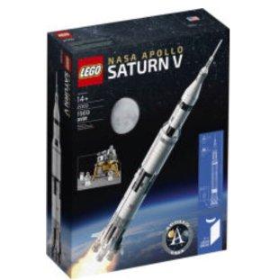 $88.72LEGO Ideas Nasa Apollo Saturn V 21309 Building Kit (1969 Piece)