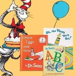 低至6折 另有买二送一Dr. Seuss 苏斯博士经典童书促销 小蓝提箱套装抱回家