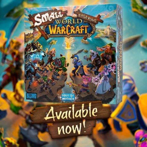 €63.24 法国境内包邮上新:Warcraft X Days of Wonder桌游游戏 开启你的线下魔兽之旅