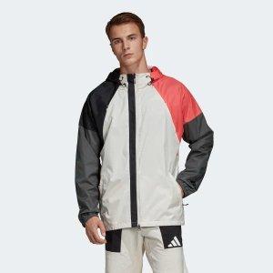 Adidas男款冲锋衣