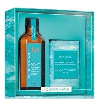 Moroccanoil 发油+沐浴皂