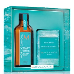 Moroccanoil(Worth £45.45) 发油+沐浴皂