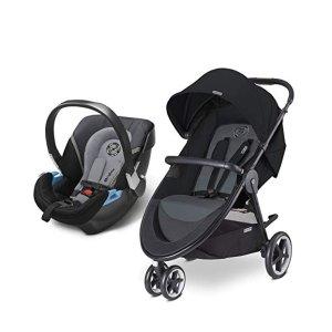 $274.36(原价$399.95)史低价:CYBEX Agis M-Air 3合1旅行套装,童车+汽车安全座椅