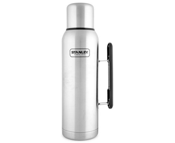 Adventure 1.3L Vacuum Flask - Brushed Stainless Steel