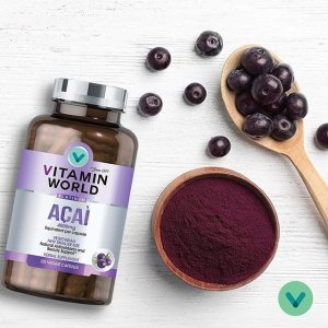 40% Off + Extra $15 off $75+Dealmoon Exclusive: Vitamin World® Platinum Acai Sale