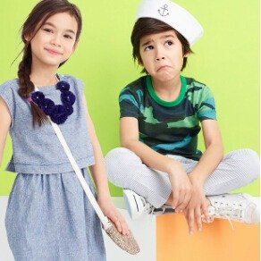 40% Off Everything + Extra 20% Your PurchaseSitewide Kid's Sale @ J.Crew Factory