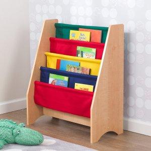 $59.99(原价$86.99)+免邮KidKraft 14226 儿童彩色4层收纳书架 让宝宝爱上读书