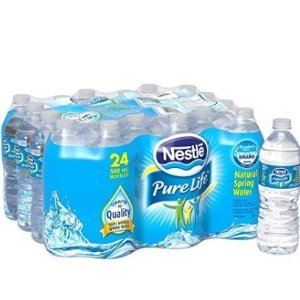 $2 (原价$5.99)Nestle Pure Life 100% Natural 纯净水 24瓶x500ml