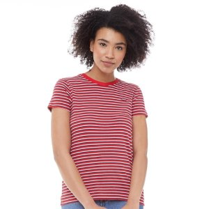 Levi's条纹T恤
