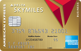 Earn 70,000 bonus miles. Terms Apply.Gold Delta SkyMiles® Business Credit Card from American Express