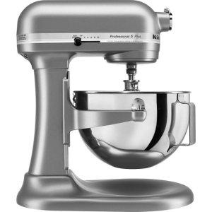 KitchenAid- KV25G0XSL Professional 500 Series Stand Mixer - Silver