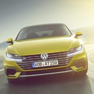 继承者 2018年登陆美国Volkswagen Arteon 旗舰四门轿跑