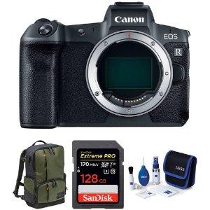 $1499 无反重制版无敌四比黑五低:Canon EOS R 专微 + 128GB 至尊超极速 + 包 + 蔡司清洁套件