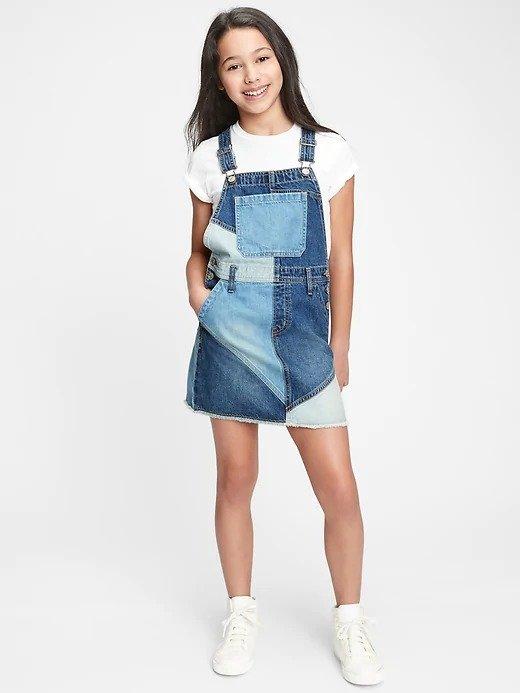 女童牛仔裙
