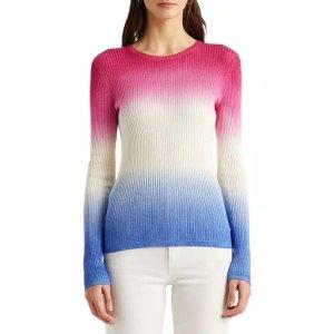 Ralph Lauren封面同款扎染毛衣