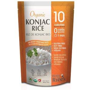 仅售$4.99  无糖无脂高纤维Better Than Rice 0碳水魔芋米饭 仙女们都爱 自制美味寿司