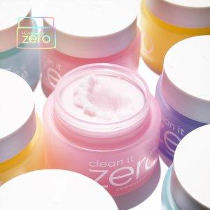 7.5折 经典卸妆膏仅$14.25独家:Banila Co官网 王牌卸妆膏Clean It Zero系列大促