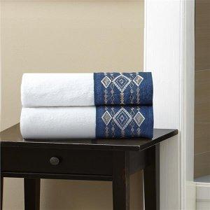 纯棉印花浴巾