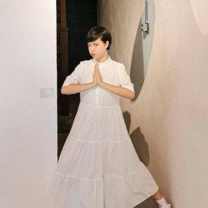 Monki小白裙