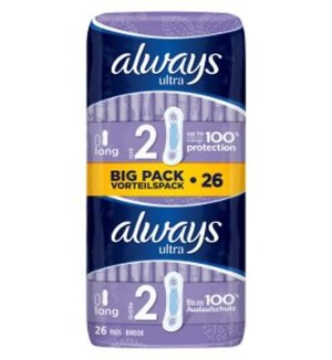 Always Ultra Long (Size 2) 卫生巾26片