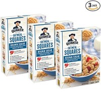 QUAKER 红糖早餐谷物方块 3盒 43.5oz