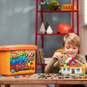 折后€29 原价€39Mega 积木盒790块 乐高平替 激发孩子想象力和大脑发育