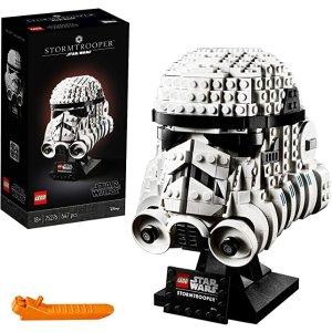 Lego帝国风暴兵头盔 75276
