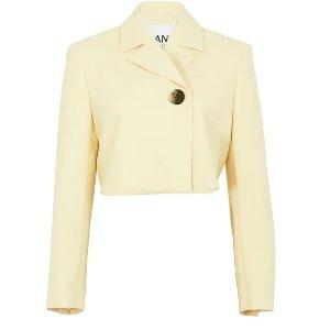 Ganni满$500,享8折Short suit 短外套