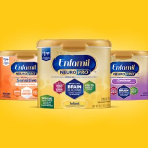 Free $20 Target Gift CardTarget With Purchase of $100 Enfamil/Enfagrow Formula