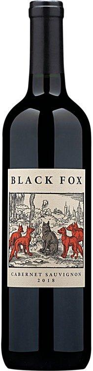 2018 Black Fox Cellars  黑莓+黑樱桃+黑加仑子口味赤霞珠