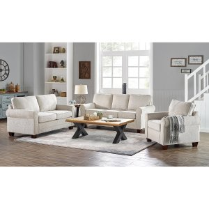$799Home Meridian Adaline Sofa, Loveseat and Chair Collection