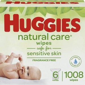 现价$18.02(原价$24.98)HUGGIES 好奇 婴儿无香型湿纸巾 1008张 呵护宝宝娇嫩皮肤
