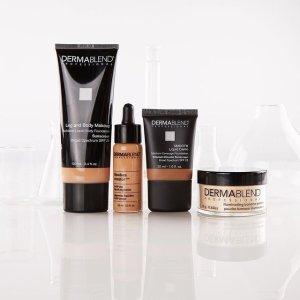低至7.5折+免邮+送小样Dermablend 周末美妆护肤大促 收广效遮瑕膏、香蕉散粉