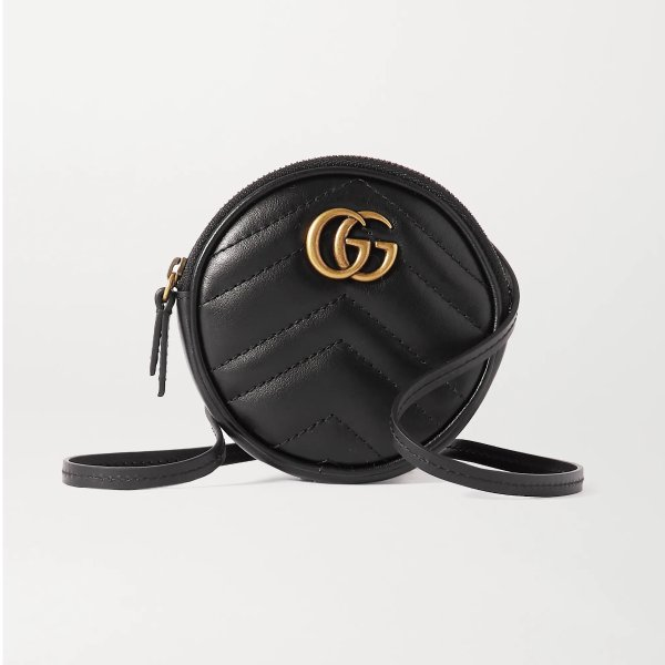 GG Marmont quilted 单肩包