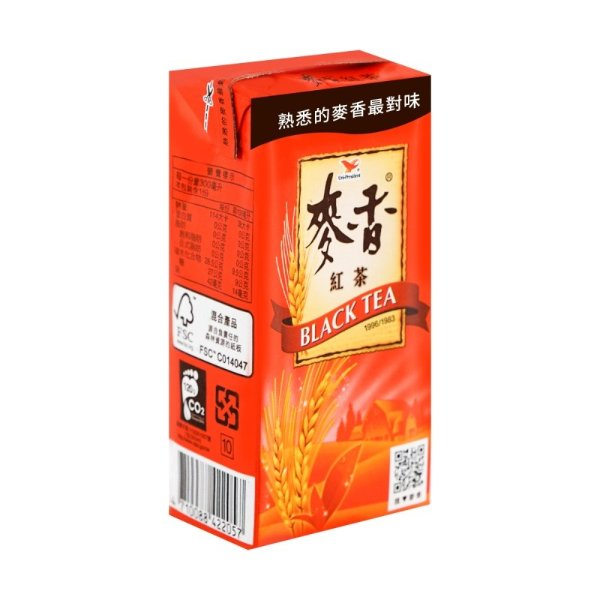 统一 麦香紅茶 300ml